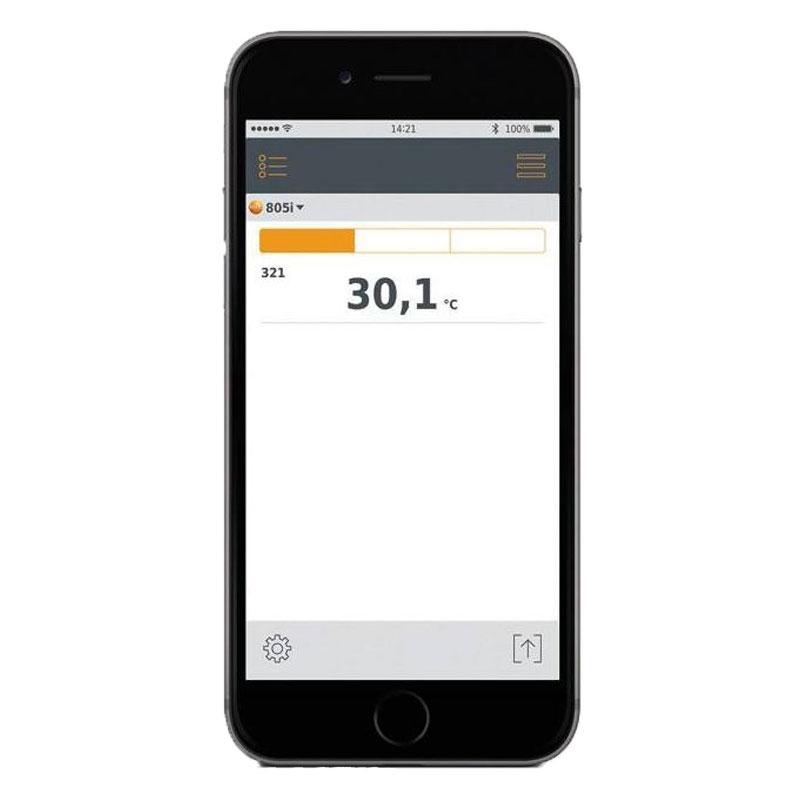 testo 805i Bluetooth Infrared Thermometer Smart Probe | FSW